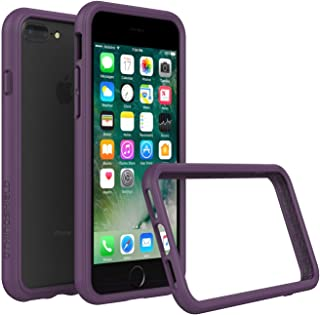 RhinoShield Ultra Protective Bumper Case for [ iPhone 8/7 Plus] CrashGuard, Military Grade Drop Protection for Full Impact, Slim, Scratch Resistant, Purple