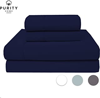 Purity Home 400 Thread Count 100% Cotton Performance...