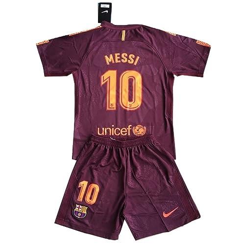 f7064c1efb6 Tamarra-Nikollova Messi  10 FC Barcelona 2017-2018 Champions League Youths  Soccer Jersey