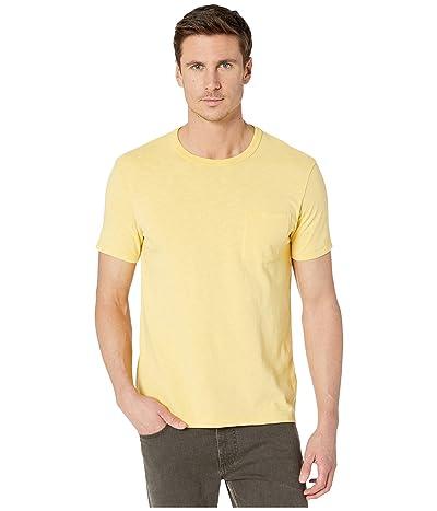 J.Crew Garment-Dyed Slub Cotton Crewneck T-Shirt (Yellow Honey) Men
