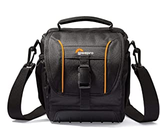 Lowepro Shoulder Bag Protection Practicality Ready for Your Next Photo Adventure, Delivering Protection and Practicality, Black (LP36863-0WW)