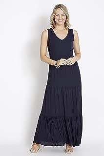 Rockmans Sleeveless Geo Print Maxi Dress - Womens