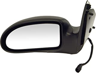 Dorman 955-020 Driver Side Power Door Mirror for Select Ford Models, Black