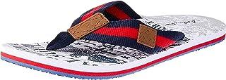 Atlantis Shoes Men's Navigation Eagle Thong Sandals