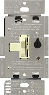 Lutron AYCL-153P-AL Ariadni/Toggler 150 Watt Single-Pole/3-Way Dimmable CFL/LED Dimmer, Almond