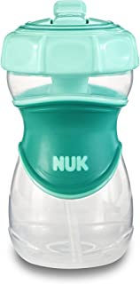 NUK Everlast Straw Sippy Cup, Green, 10oz 1pk