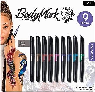 BIC BodyMark Temporary Tattoo Marker Assorted Colors (9 pk.)