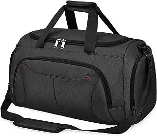 NUBILY Sporttasche Herren Reisetasche Weekender mit Schuhfach Große Wasserdicht Fitnesstasche Trainingstasche Gym Sport Tasche Handgepäck für Männer und Frauen 40L