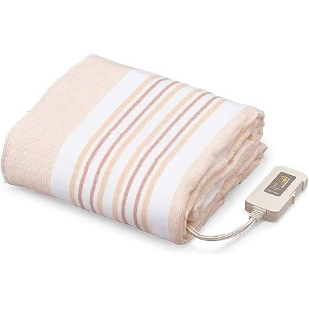 アイリスオーヤマ 電気毛布 掛け敷き 電気ひざ掛け ブランケット 洗える EHB-1813-T