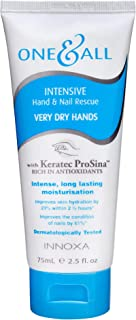 Innoxa One & All Very Dry Hands Hand Cream Moisturising Fragrance-Free Skin Lotion Beauty Care