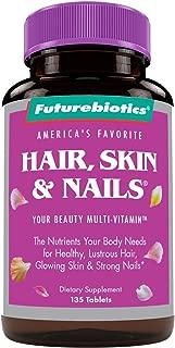 Futurebiotics Hair, Skin, & Nails Beauty Multivitamin, 135 Tablets