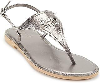DKNY Women's Slip Back Thong Sandal Flip-Flop