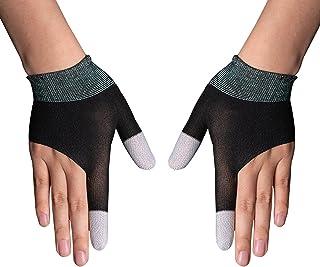 Gaminghandschoenen voor mobiele gamecontroller, Touch Finger Nano-Silver Fiber Materiaal Hooggevoelig Anti-Zweet Ademend N...
