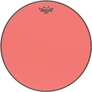 Remo Emperor Colortone Red Drumhead, 16