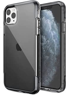 Defense Air, iPhone 11 Pro Max Case - Military Grade Drop Tested, Anodized Aluminum, TPU, and Polycarbonate Protective Case for Apple iPhone 11 Pro Max, (Smoke)