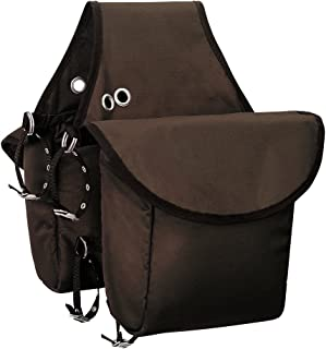 leather saddle bags western