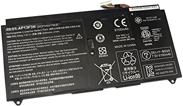 Batterymarket AP13F3N Replacement Battery Compatible with Acer Aspire S7-392 S7-392-6411 S7-392-9460 S7-392-9439 Ultrabook Series 2ICP4/63/114-2 - 47Wh 6280mAh