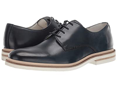 Kenneth Cole New York Vertical Lace-Up B (Navy) Men
