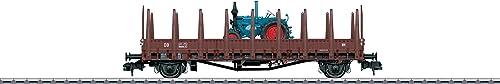 Märklin 58847 - Rungenwagen Rmms 33 Ulm DB, multiColor