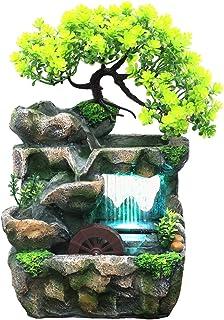 Pompe Pour Fontaine D'intérieur LED Cascade Petite Intérieure Avec Éclairage Fontaine Moderne Pompe De Fontaine De Jardin ...