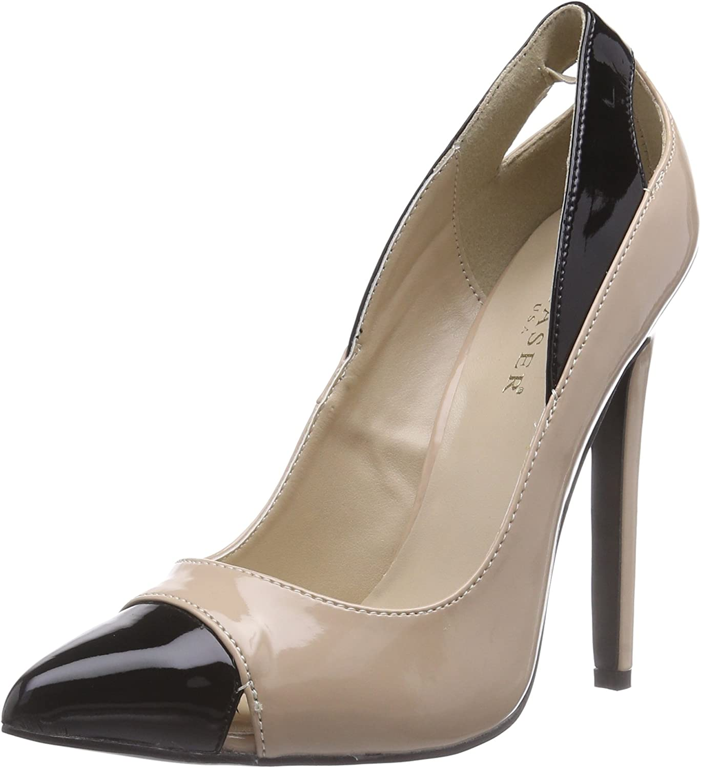 Pleaser Womens SEXY22 NU-B Dress Pump