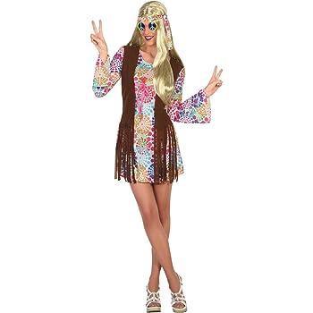 Atosa-16343 Disfraz Hippie, multicolor, XS-S (16343): Amazon.es ...