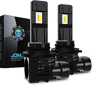 JDM ASTAR High Performance 1:1 Design 9006 White Light Output Up to 100% More Downroad Visibility LED Headlight Bulbs/Fog Light Bulbs