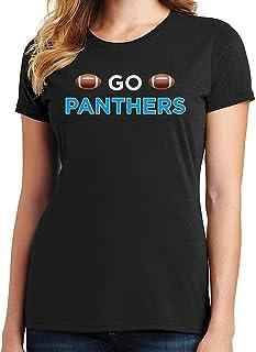 RHEYJQA Go Panthers Women's T-Shirt Sports Team
