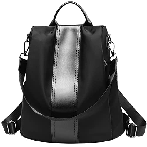 2a336f7b648e Waterproof Oxford PU Leather Small Backpack Purse for Women School Bag for  Girls