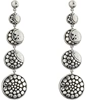 John Hardy - Dot Moon Phase Hammered Drop Earrings