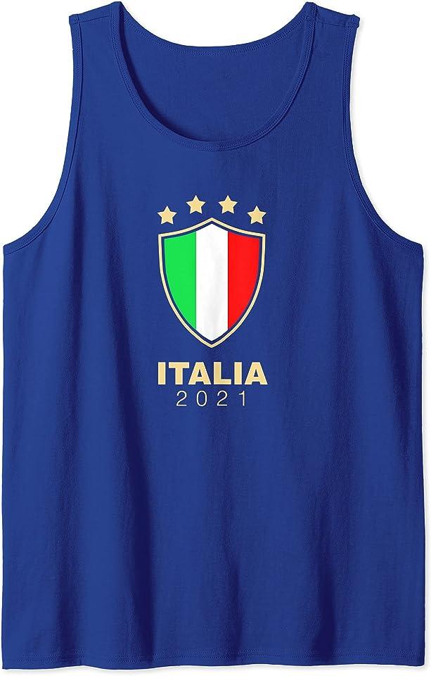 ITALIA 2021 Italien Trikot Fussball Fan (2020) Tank Top