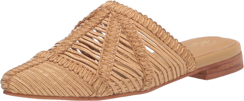 List price KAANAS Women's Jjd Madeira Pointy Flat Sandal Mule Basketweave Discount mail order