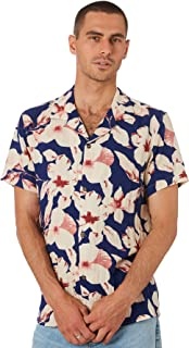 Rhythm Men's Aloha Mens Ss Shirt Short Sleeve