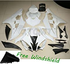 TCMT Unpainted ABS Plastic Fairing Body Fits For YAMAHA YZF R6 YZF-R6 2006 2007