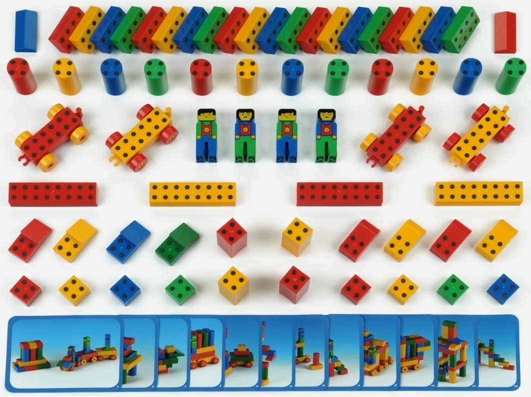Theo Klein Raleigh Mall 0652 - Manetico Kindergarden Set 1+ with Special Campaign 66 Pieces