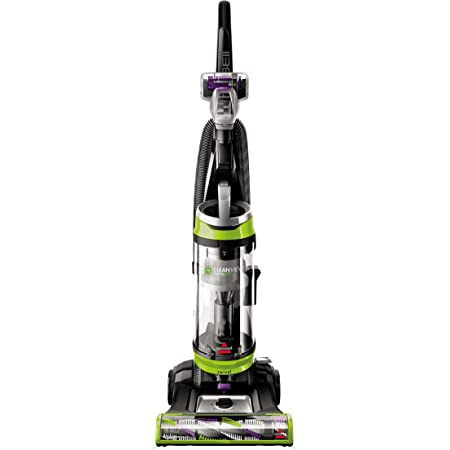BISSELL 2252 CleanView Swivel Upright Bagless Vacuum Carpet Cleaner, Green Pet