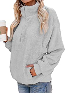 sherpa pullovers plus size