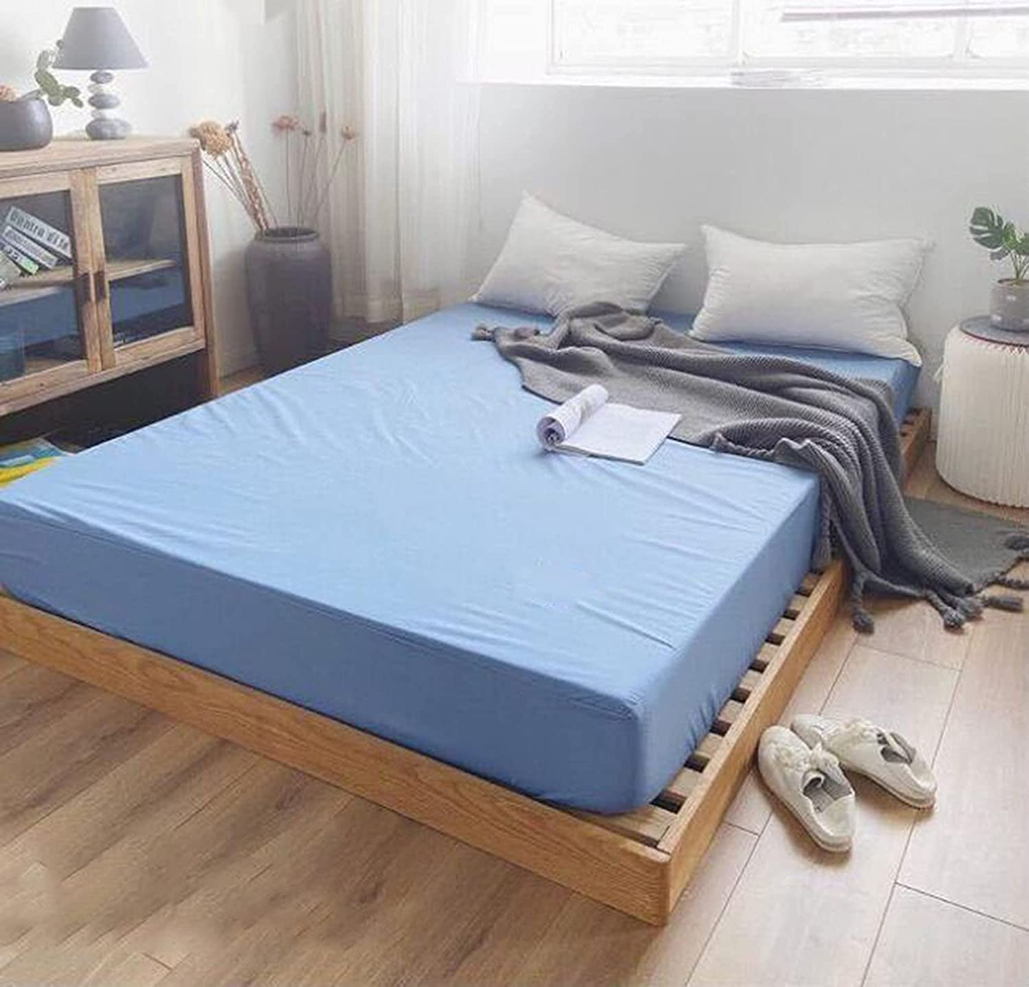 Hotel bed sheet Charlotte Mall simple waterproof single-piece solid c Max 57% OFF