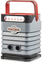 MOTOMASTER Portable Air Inflator-Compressor | Dual Motor 120PSI High Pressure, High Volume | For Tires, Bikes, Balloons, Auto, and Balls | Programmable Digital Display Provides Live Data | DC