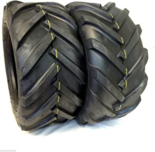 Deestone TWO 16x6.50-8 4ply 16x6.50x8 Tractor Lug Ag Tire 16x650-8 16x650x8 2 Tires Pair