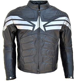 Coolhides Men's Captain Real Leather Winter Soldier Jacket