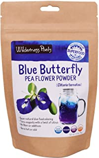 Wilderness Poets Blue Butterfly Pea Flower Powder