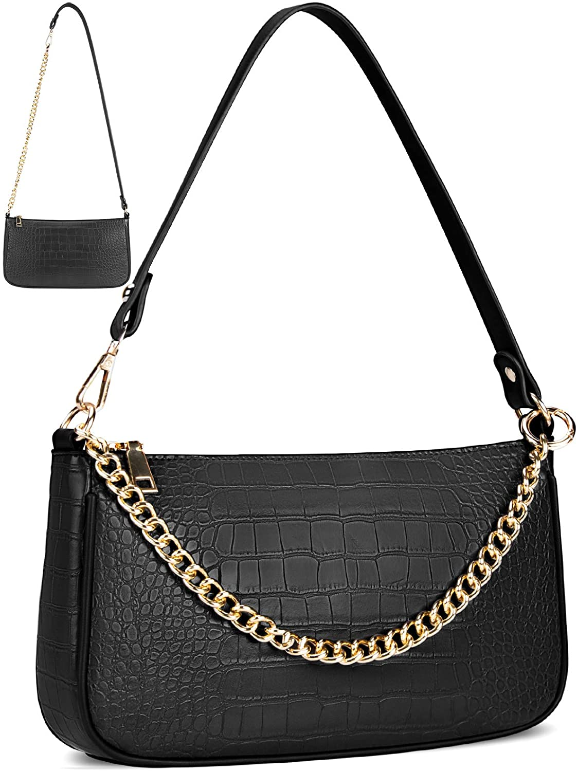 NUBILY Shoulder Bag Tampa Mall Purse for Women Ha Croc Classic Small All stores are sold Clutch