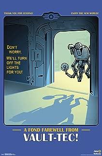 Trends International Fallout: 76-A Fond Farewell from Vault-Tec Wall Poster, 22.375
