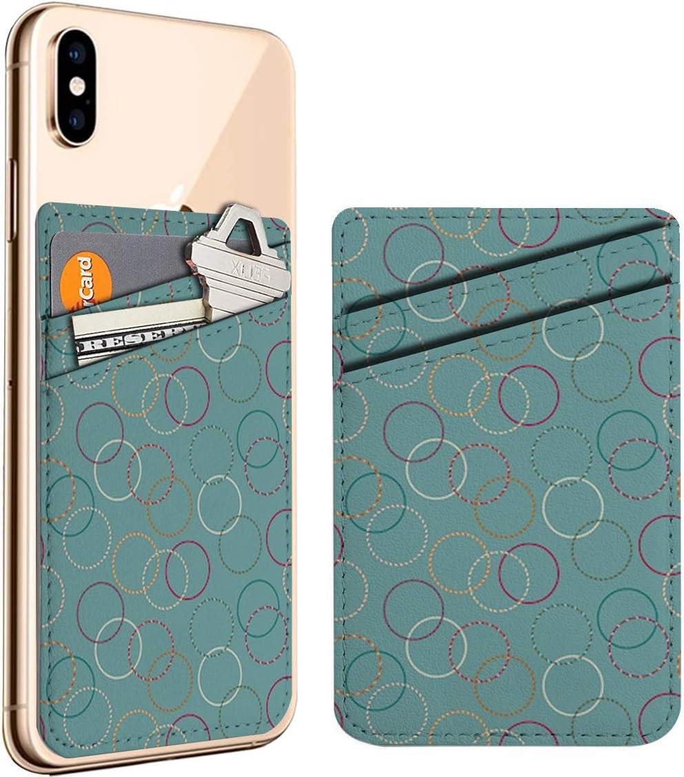 Minimal Fun Hula Hoop Cell Genuine Phone On Card Very popular! ID Leath Stick Credit