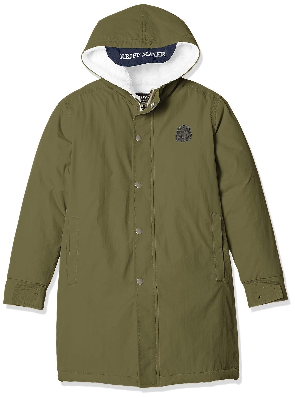 (クリフメイヤー) KRIFF MAYER WARM-UP-COAT ベンチコート シャカシャカ 裏ボア 暖か冬コート キッズ ジュニア