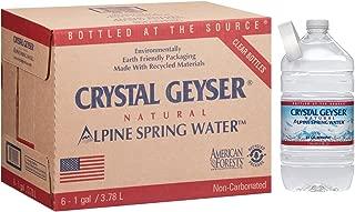 Crystal Geyser Alpine Spring Water, 128 oz