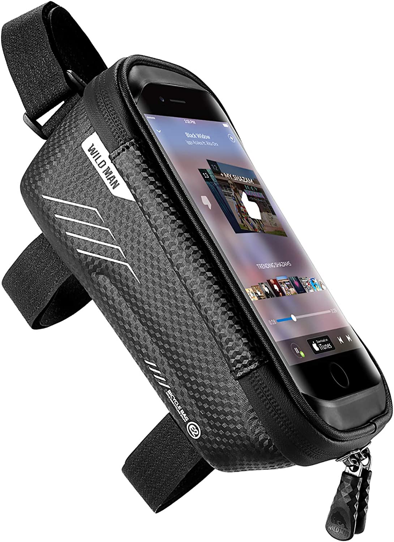 jixiejumo Bike Complete Luxury goods Free Shipping Phone Front Frame Bags - Handlebar Waterproof Bag