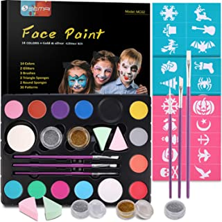 Best mermaid face paint easy Reviews
