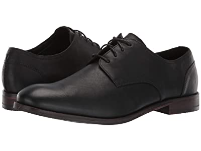 Clarks Flow Plain (Black Leather) Men